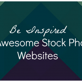 Be Inspired: 14 Awesome Stock Photo Websites
