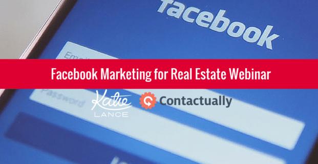 [Webinar Replay] Facebook Marketing for Real Estate