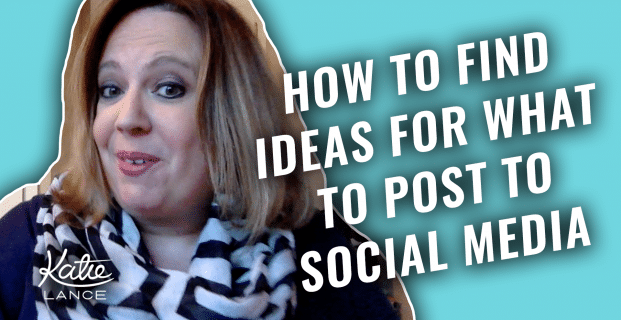 How to Find Ideas to Post to Social Media | #GetSocialSmart Show Episode 002