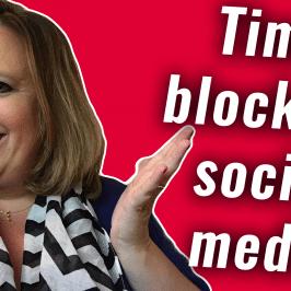 Time Blocking Your Social Media | #GetSocialSmart Show Episode 035