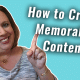 How to Create Memorable Content | #GetSocialSmart Show Episode 044