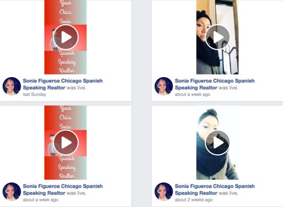 facebook newsfeed announcement for real estate agents brokers