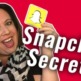 Snapchat Secrets | #GetSocialSmart Show Episode 063